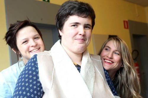 HORTENSE avec Astrid et Manon